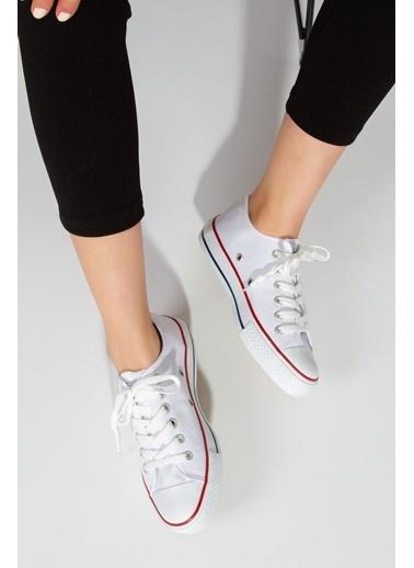 Derithy Vectorıe Sneaker-Lacıvert-Str1900 Beyaz